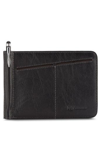 RAV Design black Leather Passport Holder RA113AC94VYRMY_1