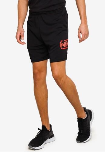 Nike black Df 3Mo Knit 5.0 Shorts 5E6A7AA5360974GS_1