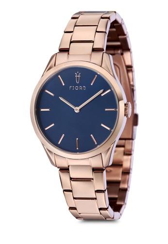 VENDELAesprit 童裝 雙指針金屬鍊圓框錶, 錶類, 飾品配件