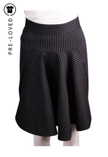 Stella Mccartney blue Pre-Loved stella mccartney Fit and Flare Pin Stripe Skirt. 3BDDBAAC063A70GS_1