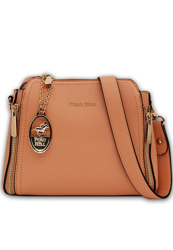 POLO HILL pink POLO HILL Ensign Ladies Sling Bag C6D8CACD70C77AGS_1