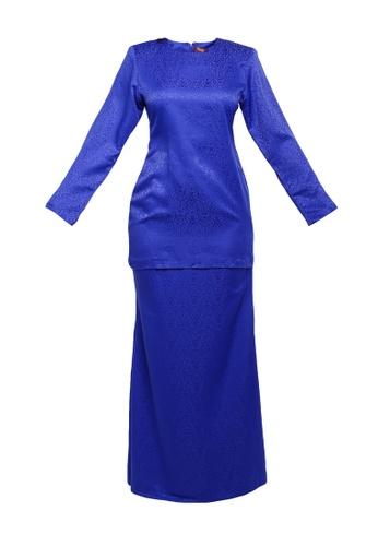 Butik Sireh Pinang blue KURUNG MODEN LAURA 375E0AA795E02AGS_1