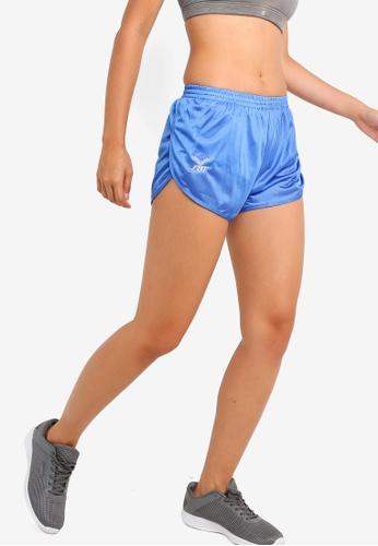 FBT blue Running Shorts Curve Cut BE18DAA3D6C12BGS_1
