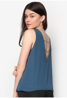 Chained Back Swing Top