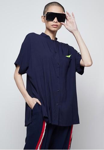 Raegitazoro blue Dutch Shirt 7C58DAA67A6AB8GS_1