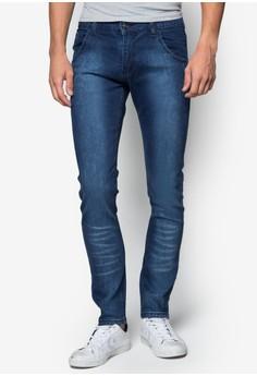 Xm-Darted Pocket Skinny Jeans