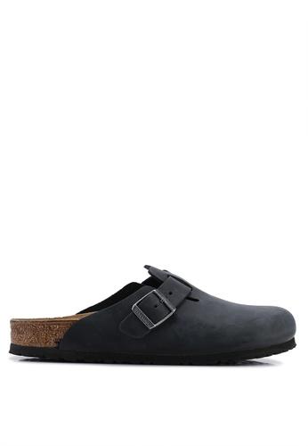 f4c333d581be05 Shop Birkenstock Boston Oiled Leather Sandals Online on ZALORA Philippines