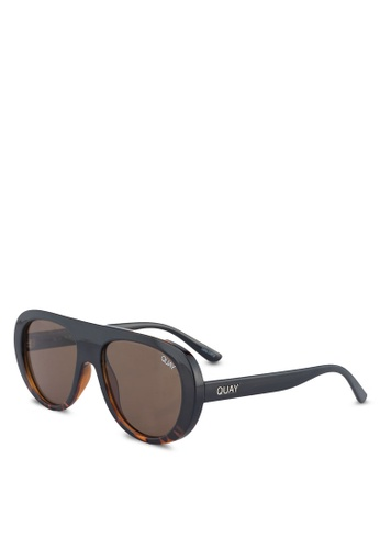 Quay Australia brown BOLD MOVE Sunglasses 3D0AFGL344C1FCGS_1