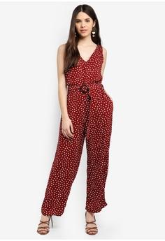 3034afe0e63 44% OFF Cotton On Woven Bobbie Strappy Wide Leg Jumpsuit HK  259.00 NOW HK   144.90 Sizes XXS XS S L