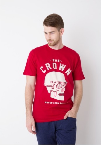 Endorse Tshirt Red Skull Red END-OG011