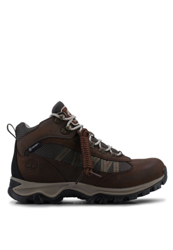 a1a665b91 Timberland brown Mt. Maddsen Lite Mid Waterproof Hiking Boots  76103SH05F6006GS_1