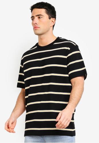 Cotton On 黑色 and 白色 Graduate T恤 CCCBEAAFC9DA0EGS_1