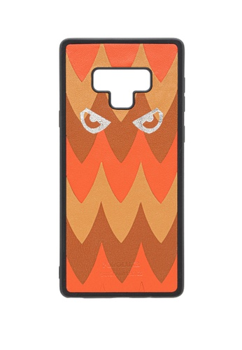 POROLUXE orange PHONE CASE FOR SAMSUNG NOTE 9 B6159AC608B781GS_1