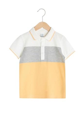 LC Waikiki orange Baby Polo Shirt 99336KA82A928AGS_1
