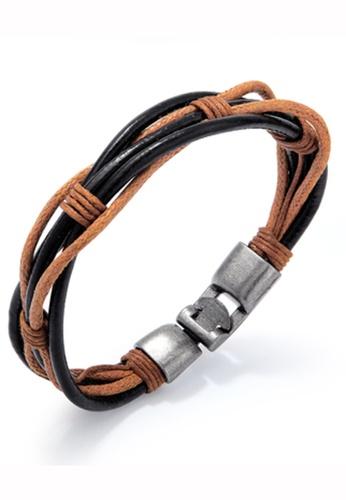 Trendyshop multi Men's Vintage Bracelet 4ECEFAC364055DGS_1