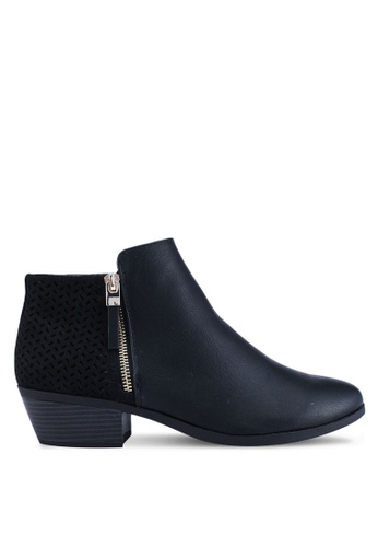 Call It Spring black Mitraria Ankle Boots 28B19SH3617285GS_1