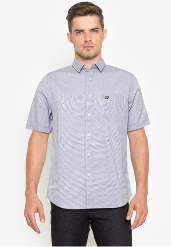 Jack Nicklaus white Blue Label Wiston Button Up Shirt EA655AAE3E5D41GS_1