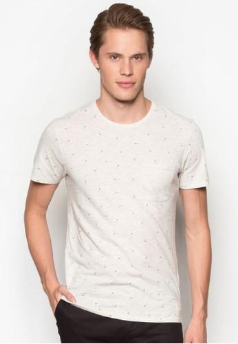 印esprit 價位花短袖TEE, 服飾, T恤