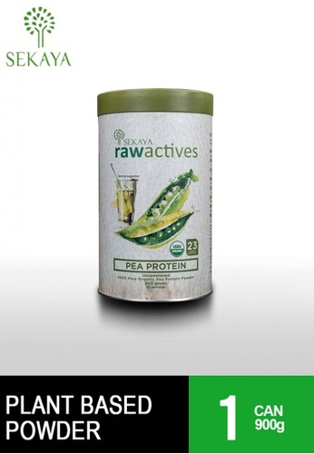 Sekaya brown Raw Actives Pea Protein 900g Can 31E91ESAC3ABB0GS_1