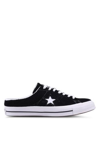 ab3147376b91 Converse black and white One Star Mule Sneakers 689E8SHB7E61B9GS 1