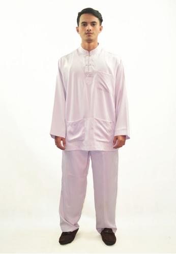 Denai Boutique white Baju Melayu Zeid 42582AAC49EDDFGS_1
