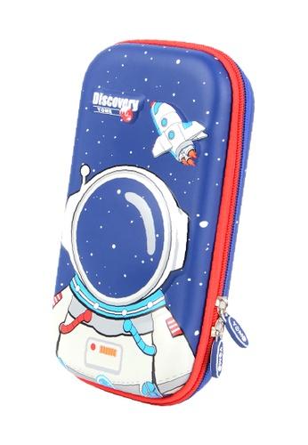 Yome navy YOME Pencil Case Astronaut 06B5EKC2CDAD38GS_1