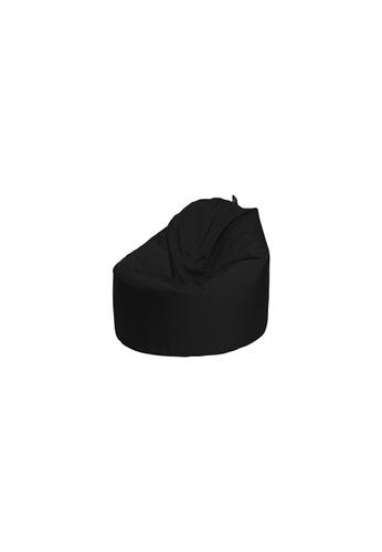 doob black OOMPH MINI - spill-proof kids doob bean bag (Jet Black) 426E3HLB60B860GS_1