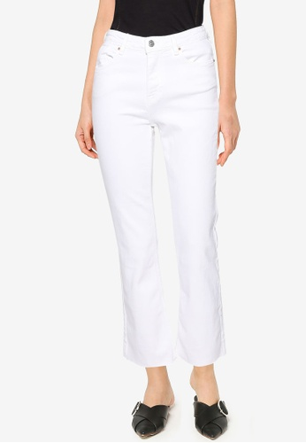 Springfield white Kick Flare Jeans FD660AA6FF9D19GS_1