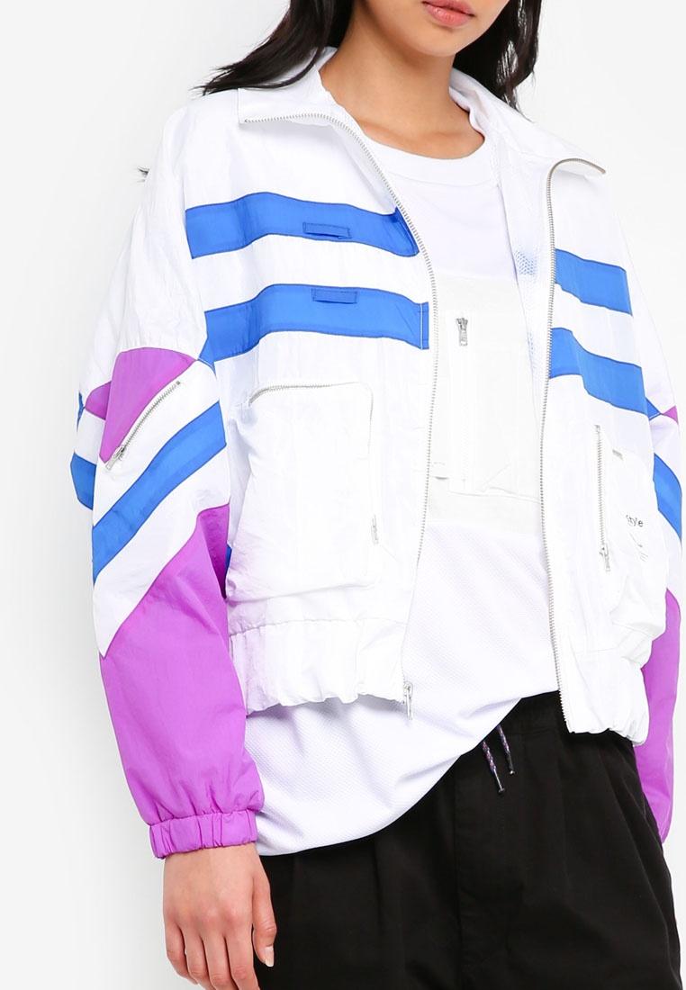 White Style Cobalt Track Jaida Violet Jacket Classic Alpha dgxCnwqPXq