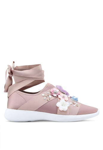 Call It Spring pink Nydessa Slip Ons 7906ASH7392706GS_1