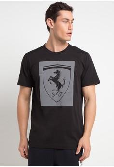 Puma black Ferrari Big Shield Tee 3CA3CAA8A885ACGS 1 326b878ee8
