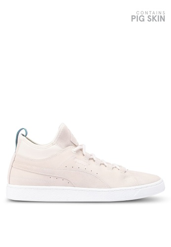 Puma Select white Puma X Big Sean Classic Shoes 014DDSH74E5E64GS_1