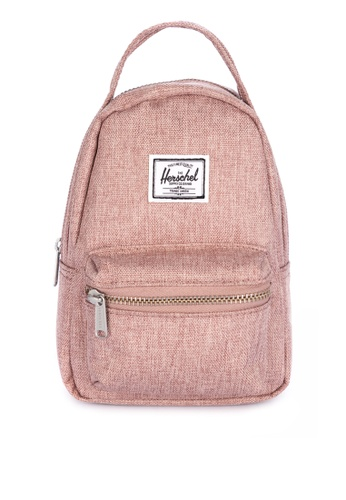Herschel pink Nova Crossbody Backpack 92B59AC75CD73FGS_1