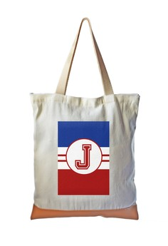 Tote Bag Sporty Initial J