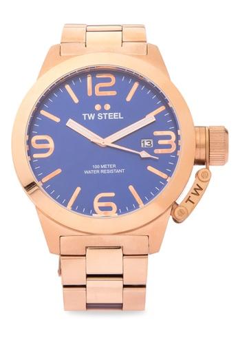 TW Steel gold CB182 Canteen Bracelet Analog Watch TW310AC0KMADPH_1