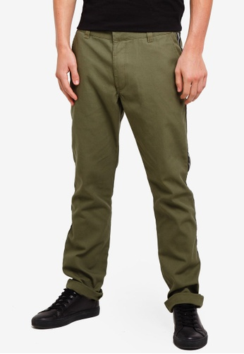 Factorie 多色 Side Stripe Work Pants 2F2F6AACF8D96AGS_1