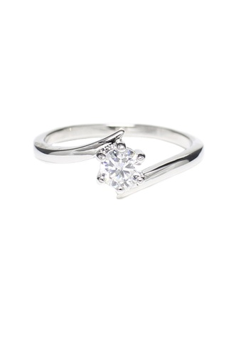 OUXI silver Ouxi Infinity Ring OU821AC40KCHMY_1