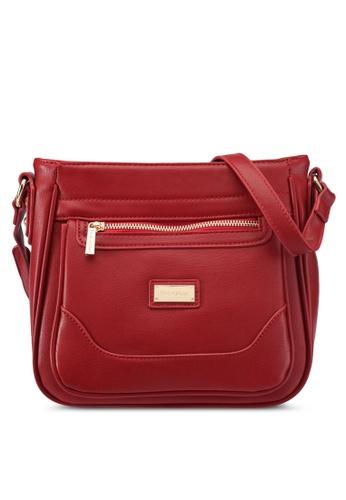 Perllini&Mel red Faux Leather Sling Bag PE444AC0SIZJMY_1