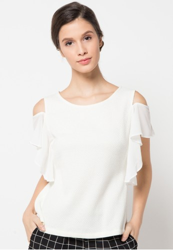 WHITEMODE white Ainsley Blouse WH193AA04LIDID_1