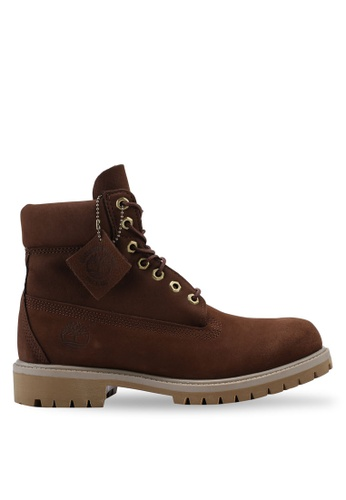 Timberland brown 6-Inch Premium Boots 368BASHB0840F3GS_1