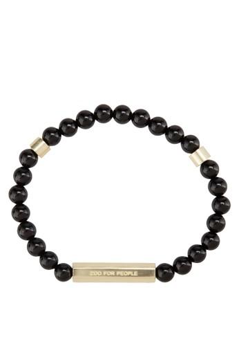 Skaesprit outletla 串珠黃銅手鍊, 飾品配件, 手環