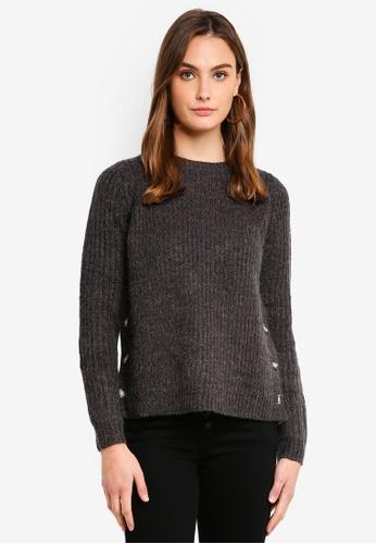 Vero Moda grey Elisa O-Neck Sweater 5B227AA3D9196CGS_1