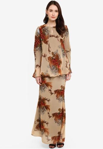 Zuco Fashion brown Midi Kurung Kedah 1D874AA9E642EEGS_1