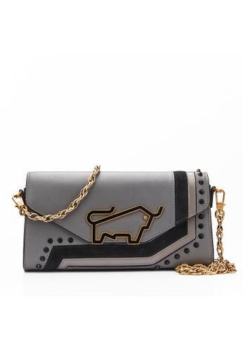 Braun Buffel grey Elisha Crossbody Bag CC241AC6C04B22GS_1