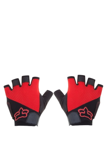 Fox Racing red Reflex Gel Short Gloves FO276AC0KAB2PH_1