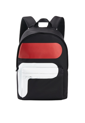 Buy Fila White Line F Logo Backpack Online on ZALORA Singapore