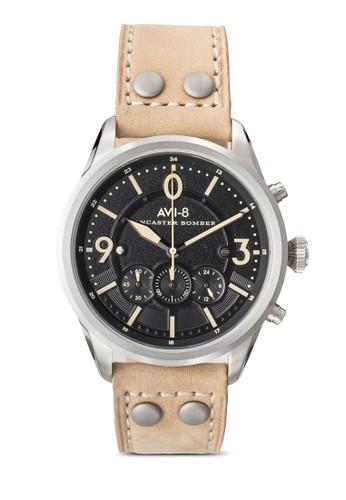 Lancaster 飛行計時皮革手錶, esprit tsim sha tsui錶類, 飾品配件
