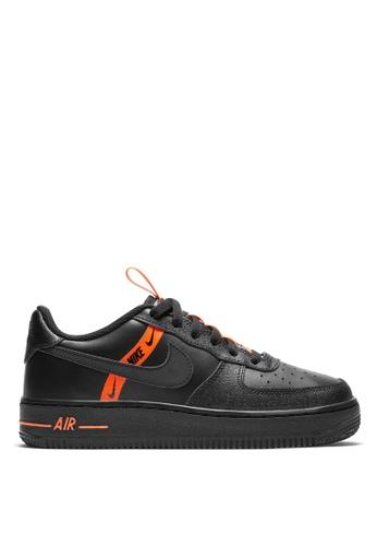 Nike black Nike Air Force 1 LV8 KSA (GS) 8EF02KS90A9A09GS_1