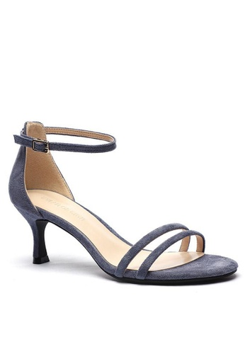 Twenty Eight Shoes 藍色 繞踝帶幼踭涼鞋366-2 D2036SH4BD36E6GS_1