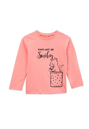 KOTON pink Long Sleeve T-Shirt 1B121KA88387EAGS_1